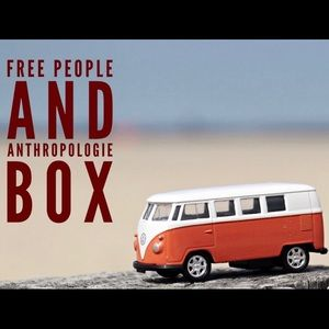 Free People and Anthropologie Mystery Reseller Box